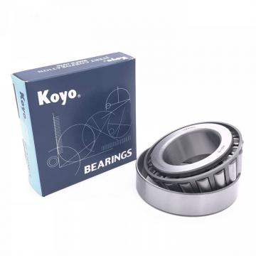 101,6 mm x 117,475 mm x 7,938 mm  KOYO KBX040 angular contact ball bearings